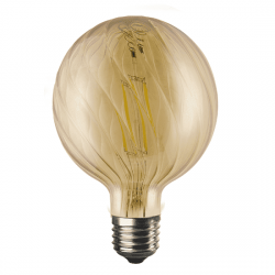 Λαμπτήρας ΒΡΙΑ LED diolamp Filament  amper (WW 2700K) 6W E27 230V Dimmable Kώδ: BRIA6WWDIMAM