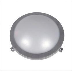 Χελώνα led adeleq-lumen στρογγυλή γκρί 12w 230v φυσικό λευκό φώς 4000Κ στεγανή ip54 Κωδικός: 21-101261