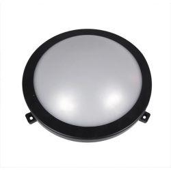 Χελώνα led adeleq-lumen στρογγυλή μαύρη 12w 230v φυσικό λευκό φώς 4000Κ στεγανή ip54 Κωδικός: 21-101211