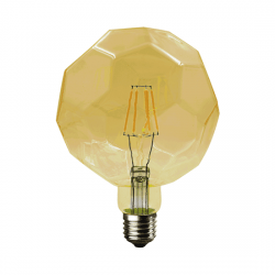 Λαμπτήρας lig LED diolamp Filament amber (WW 2700K) 6W E27 230V Dimmable Kώδ: LIG6WWDIMAM