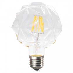 Λαμπτήρας lilac LED diolamp Filament (WW 2700K) 6W E27 230V Dimmable Kώδ: LILAC6WWDIM