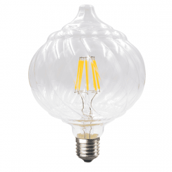 Λαμπτήρας pine LED diolamp Filament (WW 2700K) 6W E27 230V Dimmable Kώδ: PINE6WWDIM