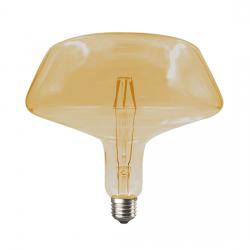 Λαμπτήρας torpa LED diolamp Filament μελί (WW 2700K) 6W E27 230V Dimmable Kώδ: TORPA6WWDIMAM