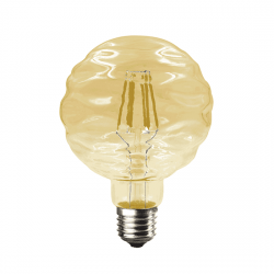 Λαμπτήρας waft LED diolamp Filament amper (WW 2700K) 6W E27 230V Dimmable Kώδ: WAFT6WWDIMAM