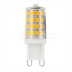 Λάμπα led v-tac με samsung chip G9 3watt 230v θερμό λευκό 3000Κ 300lumen Κώδ: 246