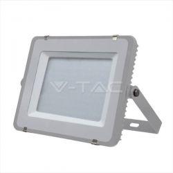 Προβολέας led v-tac με samsung chip 300w 230v γκρί σώμα φυσικό λευκό 4000Κ 24000lm Κωδικός: 488