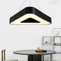 Led κρεμαστό φωτιστικό τρίγωνο atman Leggenda verona μαύρο σώμα 36w 230v cw 6000k 2900lm Κωδικός: LEG-0051
