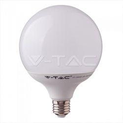 Λάμπα LED E27 G120 Samsung Chip SMD 18W/230V  2000lm θερμό λευκό 3000K Κωδικός: 123