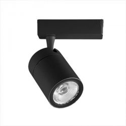 LED φωτιστικό ράγας μαύρο COB 35W 4 καλωδίων φυσικό λευκό φως 4000Κ 3500lm Κωδικός: 1286
