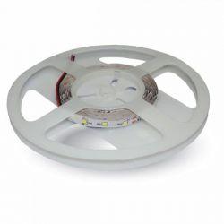 Led ταινία v-tac 12V SMD 5050 4.8W/m θερμό λευκό 3000Κ IP65 στεγανή 500lm/m Κωδικός: 2135