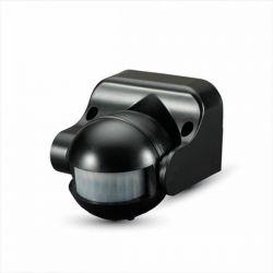 Ανιχνευτής κίνησης v-tac υπερύθρων τύπου μπαλάκι max 300W μαύρος στεγανός IP44 ανίχνευση 180° απόσταση έως 12m Κωδικός: 5077