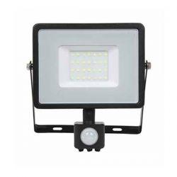Προβολέας LED Samsung chip 50W/230v (ψυχρό λευκό 6400Κ) μαύρο σώμα με ανιχνευτή κίνησης Κωδ: 471