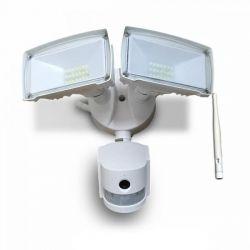 Προβολέας LED με ανιχνευτή Wi-Fi 18W Λευκό 6000K Λευκό σώμα v-tac  Κωδικός : 5745