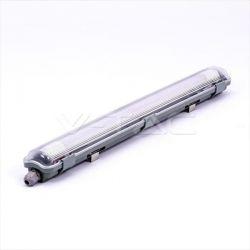 Φωτιστικό led smd στεγανό ip65 2 x 10W/230v 1700lm ψυχρό λευκό 6400Κ Κωδικός: 6466