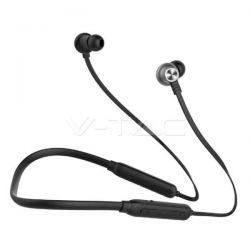 Ακουστικό Bluetooth για κινητά τηλέφωνα με καλώδιο μαύρο Κωδικός: 7710