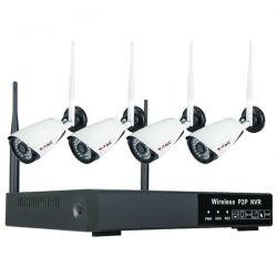 Σετ WiFi Camera εσωτερικού χώρου 1080p NVR Κωδικός: 8400
