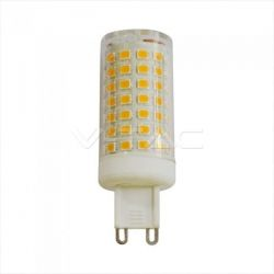 Λάμπα LED v-tac G9 SMD 7W/230v ψυχρό λευκό 6400K Κωδικός: 2724