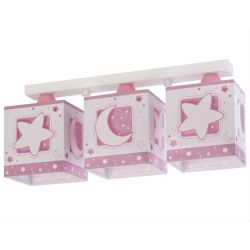 Pink Moon τρίφωτο οροφής ράγας  Κωδικός: 63233 NS