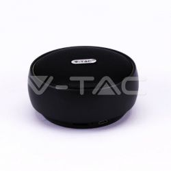 Ηχείο φορητό v-tac Bluetooth μαύρο 800mAh Κωδικός: 7718