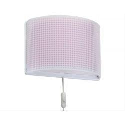 Vichy Pink απλίκα τοίχου διπλού τοιχώματος Κωδικός: 80228 S