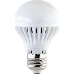 Λάμπα led τύπου αχλάδι trilight Ε27 6watt 230v/ac ψυχρό λευκό 6000Κ 430lumen με μάτ γυαλί δέσμης 180° sku: A606CWE27