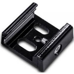 Αντάπτορας στήριξης ράγας 4 καλωδίων σε τοίχο μαυρος Κωδικός : 4WSTB
