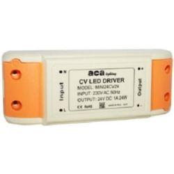 Τροφοδοτικό - led driver 12W 230V στα 12VDC για ταινίες & λάμπες LED πλαστικό μη στεγανό IP20 sku: MINI12CV12