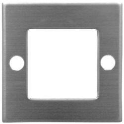 Led φωτιστικό δαπέδου τετράγωνο αλουμινίου 9 led 0,6 watt-230 v  θερμό λευκό ip 54 Adeleq 3-962100/96211