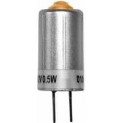 Λαμπάκι G4 (Καρφάκια) 0,5 watt με 1smd 12V AC/DC Φ10mm L23mm 45° Πορτοκαλί