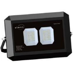 Προβολέας led ultra slim μαύρος 100w 230v ψυχρό λευκό 6000Κ 11000lm Atman Κωδικός : FL-K-00060