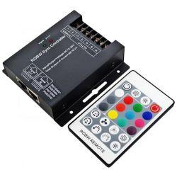 Controller RGB SZ600-RGBW 12V DC-24V DC με τηλεχειριστήριο για λωρίδες Led RGB sku: SZ600-RGBW