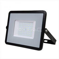 Προβολέας LED Samsung chip 50W Λευκό 6400K Μαύρο σώμα High Lumen Κωδικός: 761