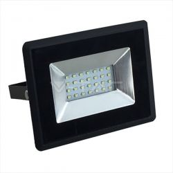 Προβολέας LED 20W Πράσινο Μαύρο σώμα E-Series Κωδικός: 5991