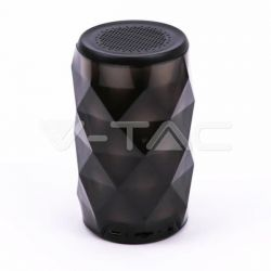 LED LIGHT MINI PORTABLE BLUETOOTH SPEAKER WITH AUX & TF SLOT(TWS FUNCTION)-1200mah BATTERY Κωδικός: 7723
