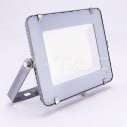 Προβολέας LED Samsung chip 150W High Lumen ψυχρό λευκό 6400K Γκρί σώμα (120LM/W) Κωδικός: 777