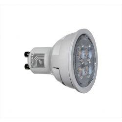 Λάμπα led GU10 ισχύος 10W 230V 3000K θερμό φως δέσμης 38° 1000lm Ø50mm Κωδικός: 13-1021000
