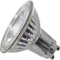 Λάμπα LED COB GU10 Γυάλινη 5W 230V 30° Θερμό 3000K - Adeleq 13-101500