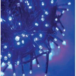 Led Λαμπάκια σε Σειρά 100 Led 3mm Μπλε σε Πράσινο Καλώδιο X08100611 - Aca