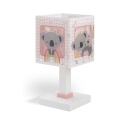 Φωτιστικό Κομοδίνου Παιδικό Coala Pink E14 63261S - Ango