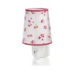 Φωτάκι Νυκτός Πρίζας Παιδικό Dream Flowers Pink 81175S - Ango