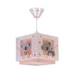 Φωτιστικό Οροφής Παιδικό Koala Pink 63262S - Ango