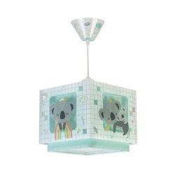 Φωτιστικό Οροφής Παιδικό Koala Green 63262H - Ango