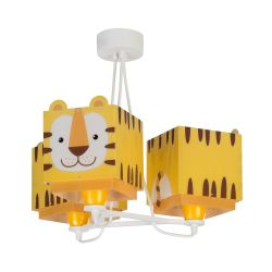 Φωτιστικό Οροφής Παιδικό Τρίφωτο Little Tiger 64567 - Ango