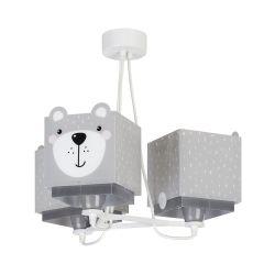 Φωτιστικό Οροφής Παιδικό Τρίφωτο Little Teddy 64577 - Ango