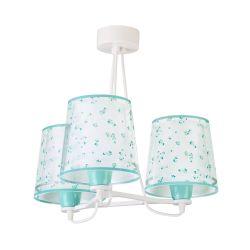 Φωτιστικό Οροφής Παιδικό Τρίφωτο Dream Flowers Green 81177H - Ango