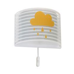 Φωτιστικό Απλίκα Τοίχου Παιδικό Light Feeling Gray 81198E - Ango