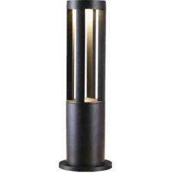 Φωτιστικό Κολωνάκι LED Κήπου 10W Θερμό Λευκό 3000Κ σε Μαύρο Χρώμα - Atman BOL-LEG-10W-1