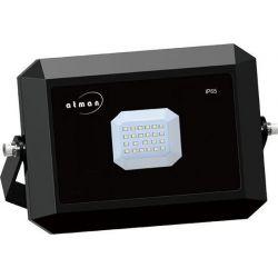 Προβολέας LED 10W Πράσινο Φως Μαύρο Σώμα ΙΡ65 Κωδικός FL-K-00016