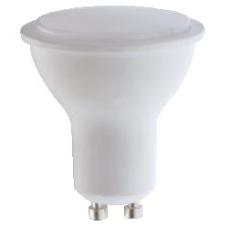 Λάμπα LED GU10 6W Dimmable 520Lm 230V 4000K Φυσικό Λευκό - Atman GU10-00132