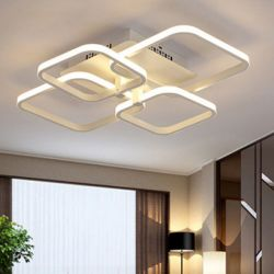 Φωτιστικό Οροφής LED Barcelona 68W με Εναλλαγή Χρωμάτων Φωτισμού - Atman LEG-617/4L